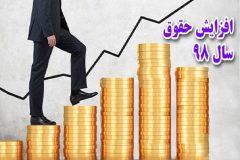 حقوق های زیر ۲ میلیون تومان، ۴۴ درصد افزایش می یابد