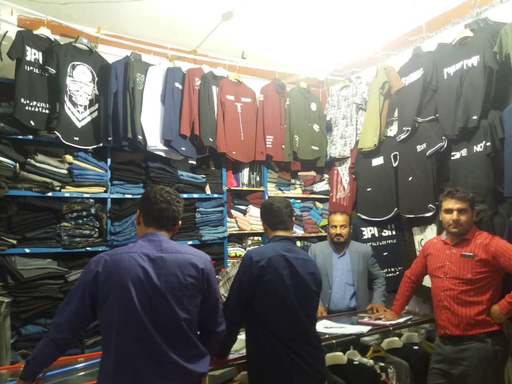 مجازات ۲۱ مغازه دار متخلف در باشت
