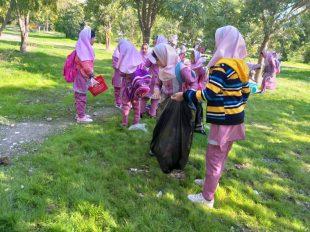 گزارش تصویری از روز هوای پاک در مدارس گچساران