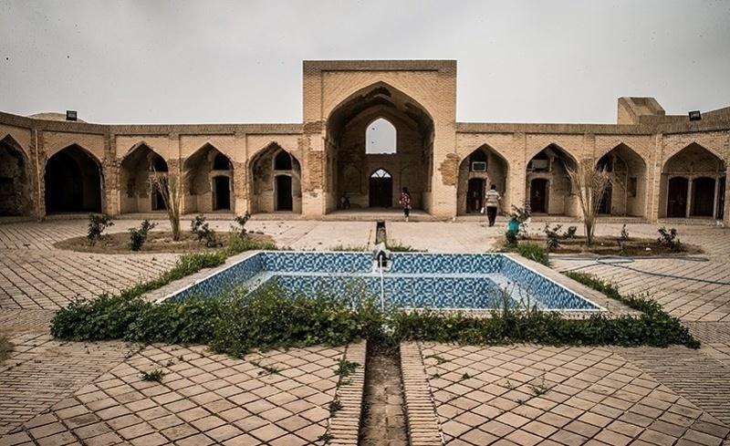 مدرسه علمیه ای با چهار قرن قدمت در جوار رود خیرآباد