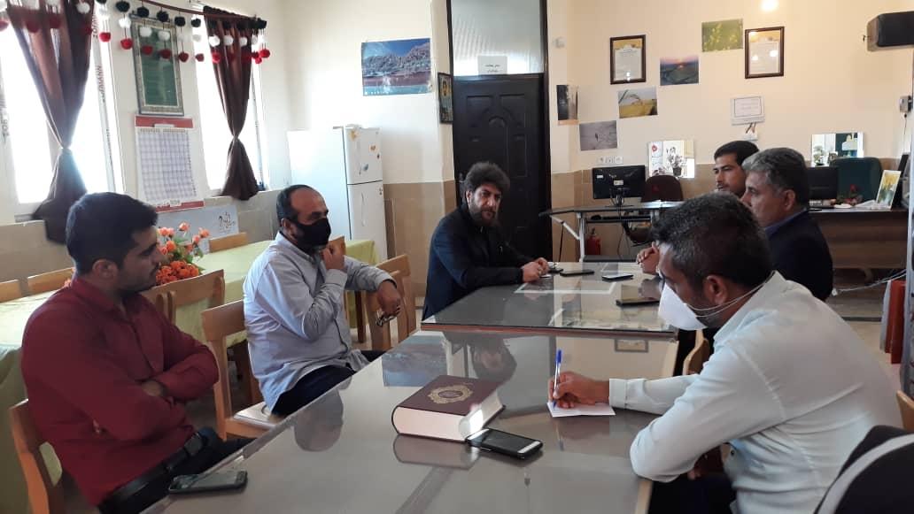 بازدید مدیر کل ارشاد کهگیلویه و بویراحمد از کتابخانه برتر کشوری