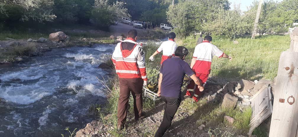 غرق شدن جوان گچسارانی در رودخانه نازمکان