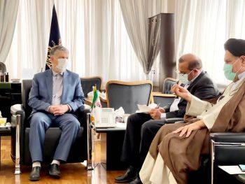 دیدار موحد با وزیر ارشاد اسلامی